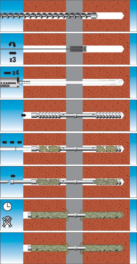 wall ties diagram